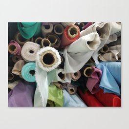 Bolt-Ribbon Canvas Print