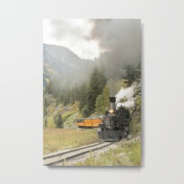 Colorado Railroad Metal Print