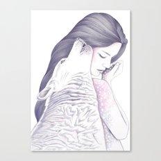 Twin Souls Canvas Print