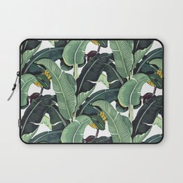 banana leaf pattern Laptop Sleeve