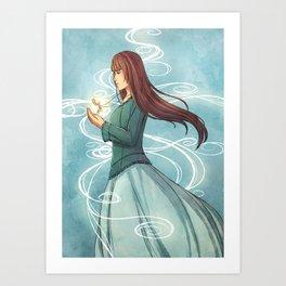 The clockwork princess Art Print