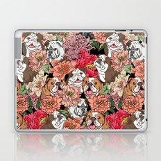 Because English Bulldog Laptop & iPad Skin