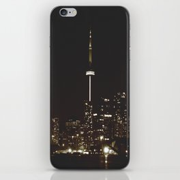 night lights iPhone Skin