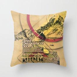 Expedition Nimrod - Exploration #2 Throw Pillow