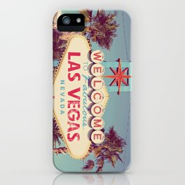 Welcome to fabulous Las Vegas iPhone Case