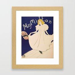 "Henri de Toulouse-Lautrec ""May Milton"" Framed Art Print"