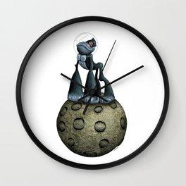 """""""moonkey"""" Wall Clock"""