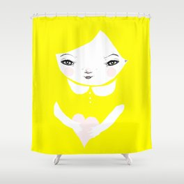 I Heart You Shower Curtain