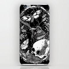 edgar allan poe - raven's nightmare iPhone & iPod Skin