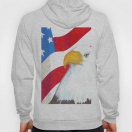 Eagle And Flag Hoody