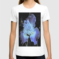 iris T-shirts featuring Iris by Sheri L. Wright