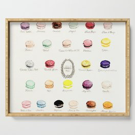 laduree macaron menu Serving Tray
