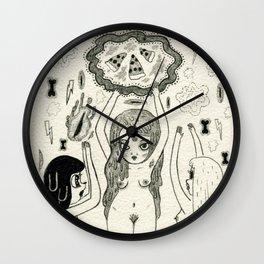 Pizza Worship Wall Clock