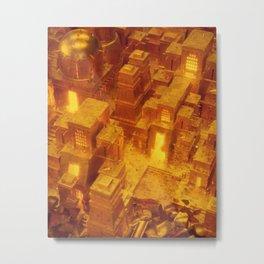 24k village Metal Print