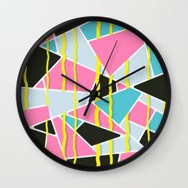 Japanese Patterns 11 Wall Clock