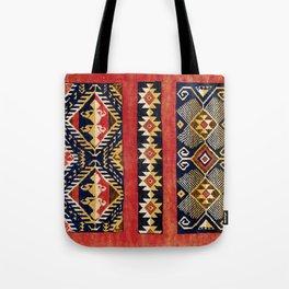 Uzbek  Antique Tribal Rug Tote Bag