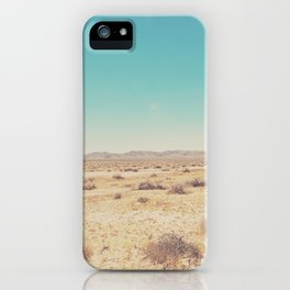 the Mojave Desert ... iPhone Case