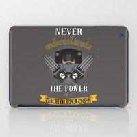 warhammer iPad Cases featuring Terminator 2, Warhammer 40K by ZsaMo Design