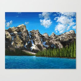 Canadian Vista  Canvas Print