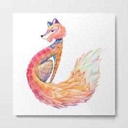 Spirit Animal - FOX Metal Print