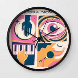 Bossa Nova Cuca Fresca Wall Clock
