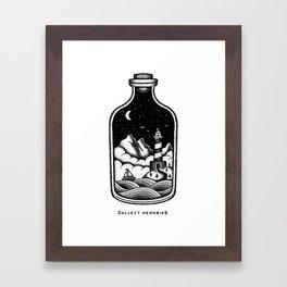 COLLECT MEMORIES Framed Art Print