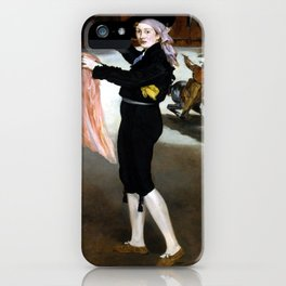Édouard Manet  Mademoiselle V. in the Costume of an Espada iPhone Case
