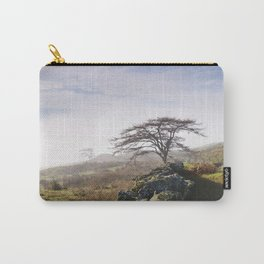Tree and rising cloud. Cumbria, UK. Carry-All Pouch
