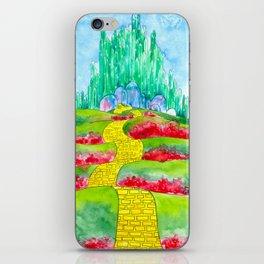 The Emerald City iPhone Skin