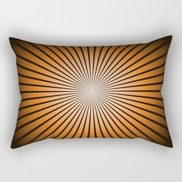 Star Brown Rectangular Pillow