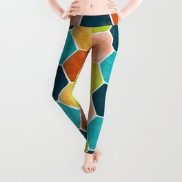 Modern Moroccan Pattern Leggings