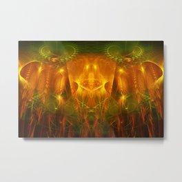 God's Throne Metal Print