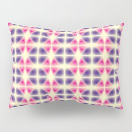violet and pink fragments Pillow Sham