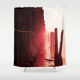 Caffeine Mornings Shower Curtain