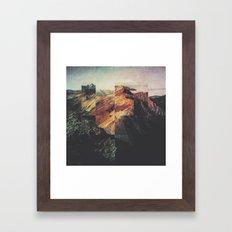 Fractions A89 Framed Art Print