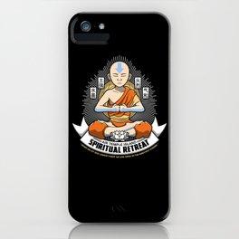 Spiritual Retreat iPhone Case