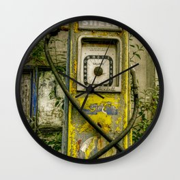 Avery Hardoll Petrol Pump Wall Clock