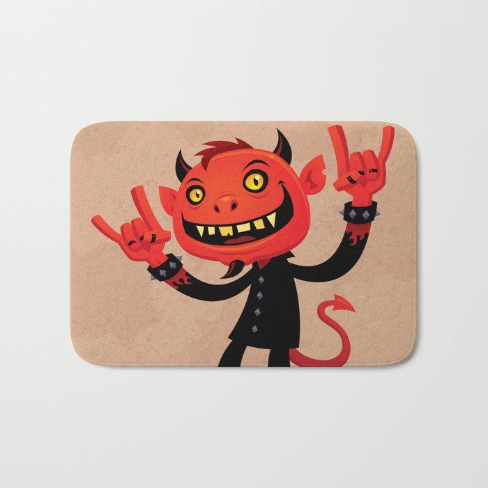 Heavy Metal Devil Bath Mat