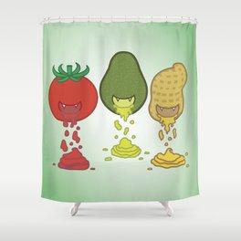 Taste Addiction Shower Curtain