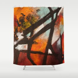 Tourist Attractions Shower Curtain