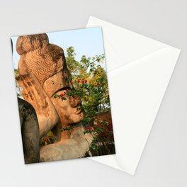 Zen Buddha Sleeping Stationery Cards