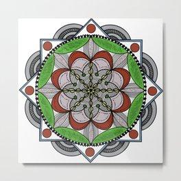 Mandala Beauty Metal Print