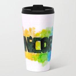 RAINBOW UNICORN.  Travel Mug