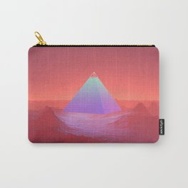 Blue Pyramid Carry-All Pouch
