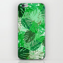 Emerald Jungle iPhone Skin