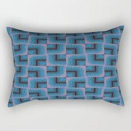 Blue Box Study Rectangular Pillow