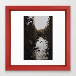Union Creek Oregon Framed Art Print