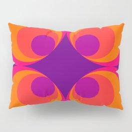 Retro 60s Pattern II Pillow Sham