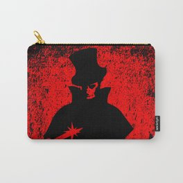 Jack the Ripper Blood Background Carry-All Pouch