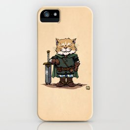 Adventure Kitty iPhone Case